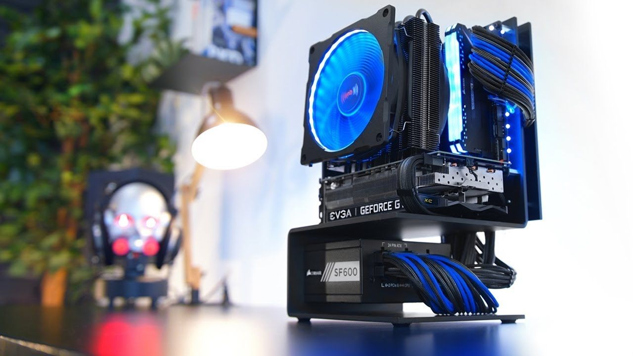 Building A Minimal Pc Like You Ve Never Seen Youtube In 2020 Custom Computer Electronic Circuit Projects Custom Pc