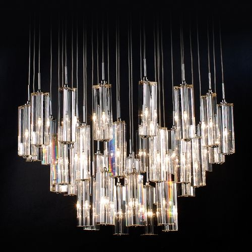 Seattle Lighting Trend Modern Chandelier With Clear