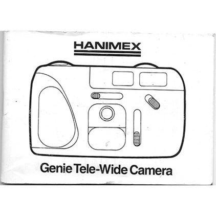 1991 Hanimex Genie Tele-Wide Camera Instruction Manual on