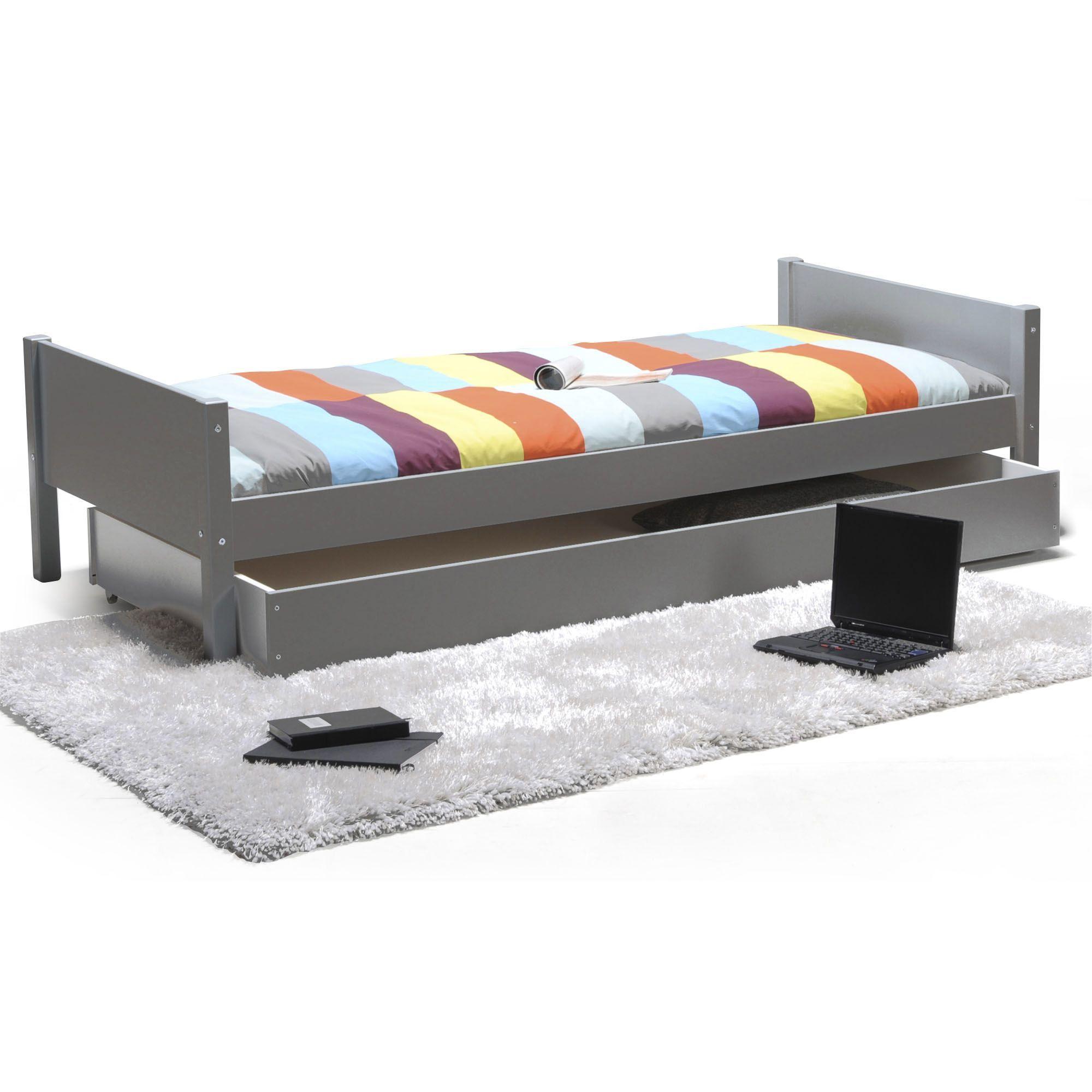 lit 90x200cm avec son tiroir de rangement my bed les meubles pour chambre enfant - Alinea Lit Enfant