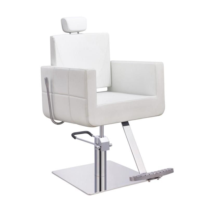 Modesto All Purpose Chair In White Reclining Salon Chair Salon Chairs All Purpose Salon Chair
