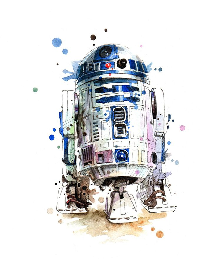 Star Wars Art On Behance Star Wars Painting Star Wars Drawings Star Wars Wallpaper