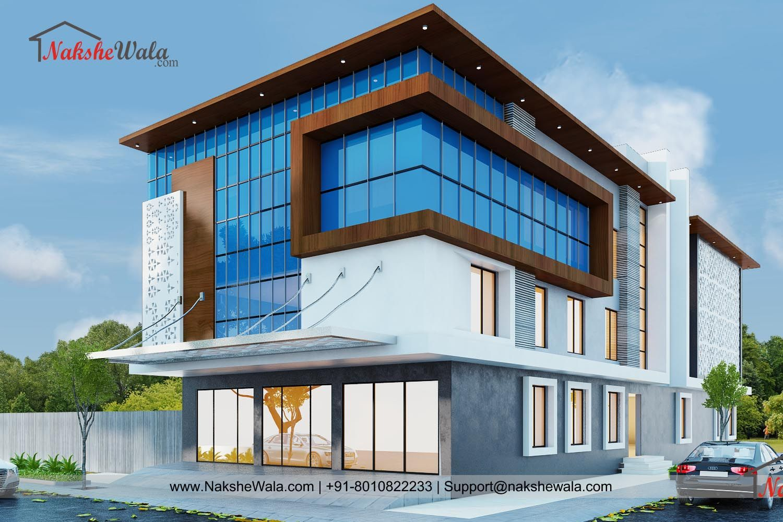 Commercial Building 3d Elevation Building Front Designs Commercial Building Plans Building Exterior
