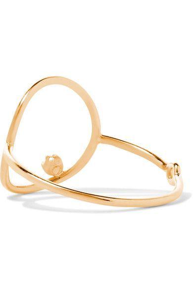 Sarah & Sebastian Stone Bubble 14-karat Gold Sapphire Ring Dowgy