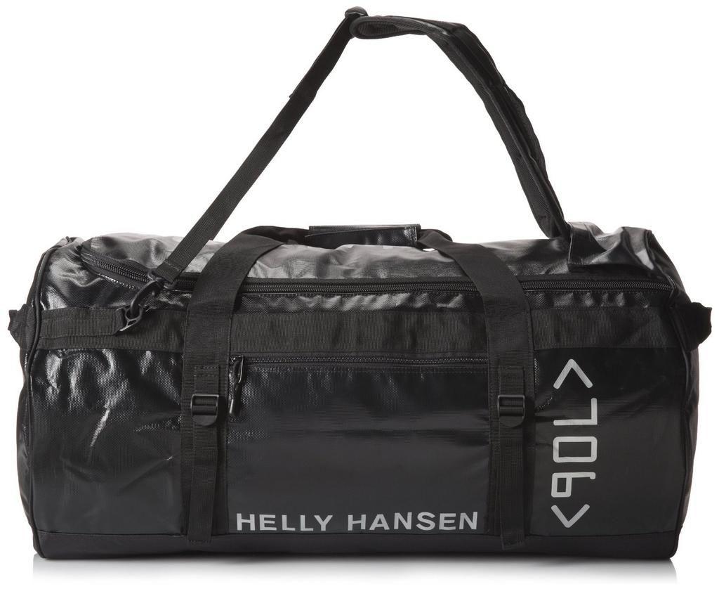Helly Hansen Duffel Men's Holdall Bag 90L Black/Silver SAVE 64% NOW £21.61