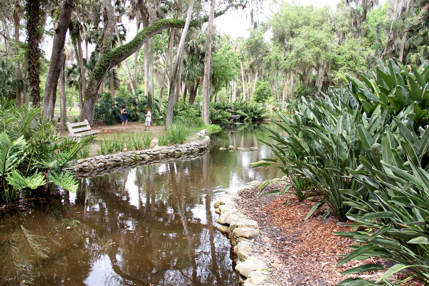 Washington Oaks Gardens State Park In Palm Coast Florida Famous For Its Formal Gardens And Also