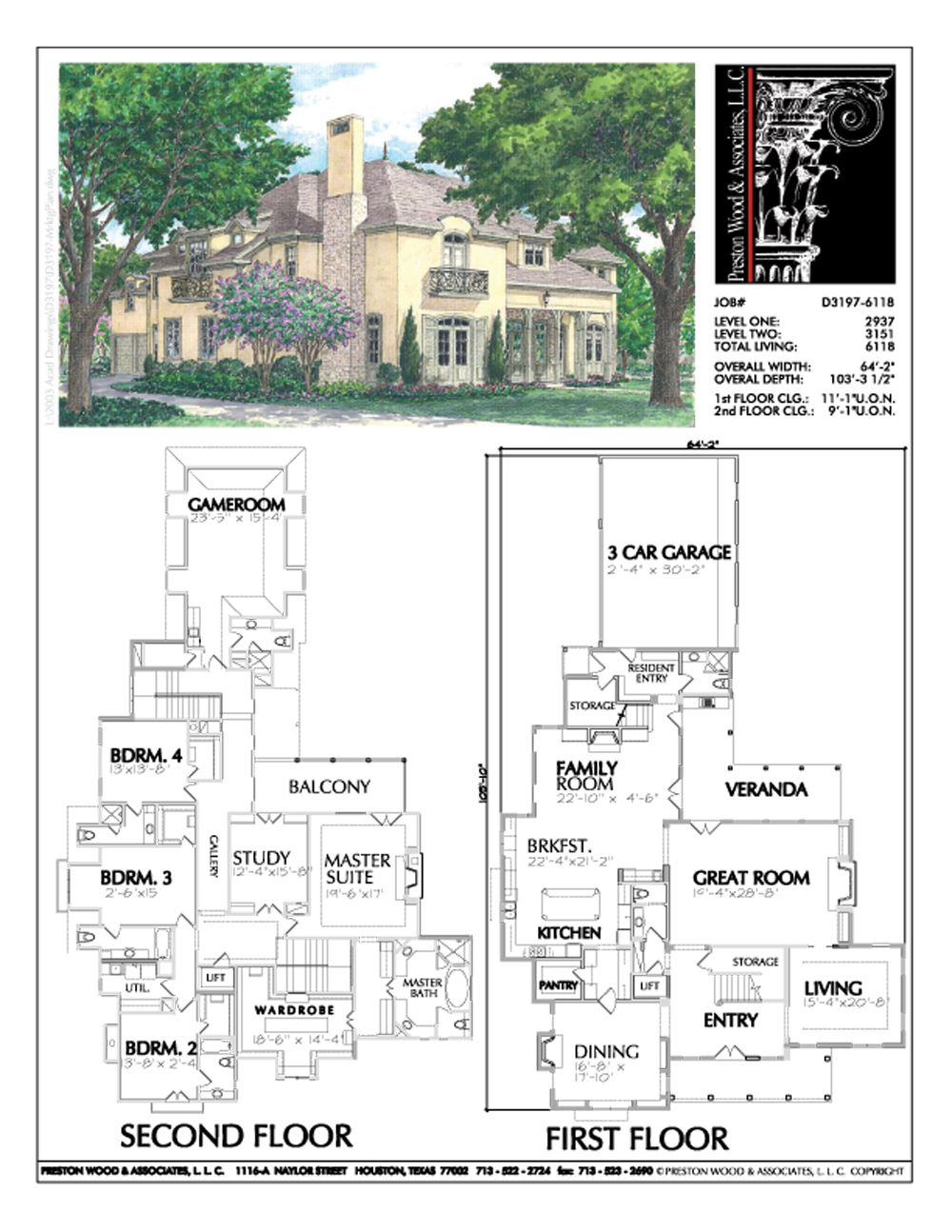 Two Story Urban Home Plan Ad3197 House Plans Unique Floor Plans Residential Building Plan