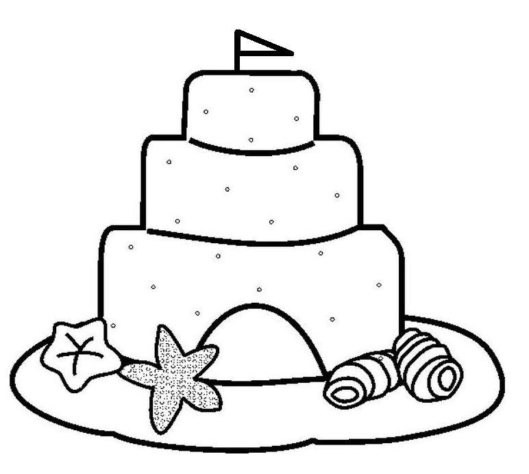 sand-castle-coloring-pages-831.jpg   Clipart   Pinterest   Craft