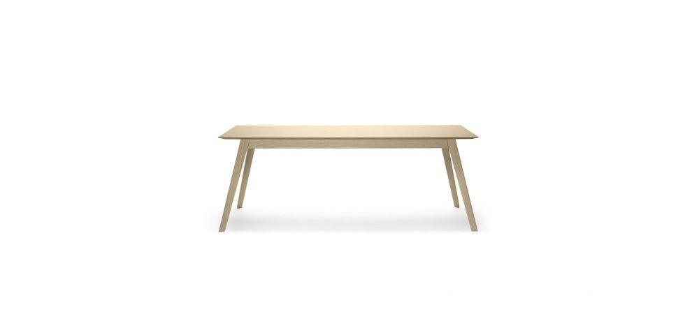 Table Aise En Bois Extensible 140x90cm Treku Avec Images Mobilier De Salon Bois Table