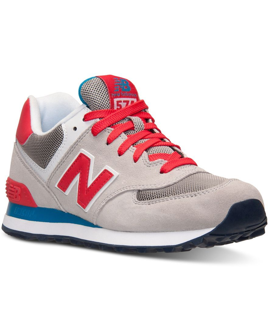 4159b92618f New Balance Women s 574 Core Plus Casual Sneakers from Finish Line ...