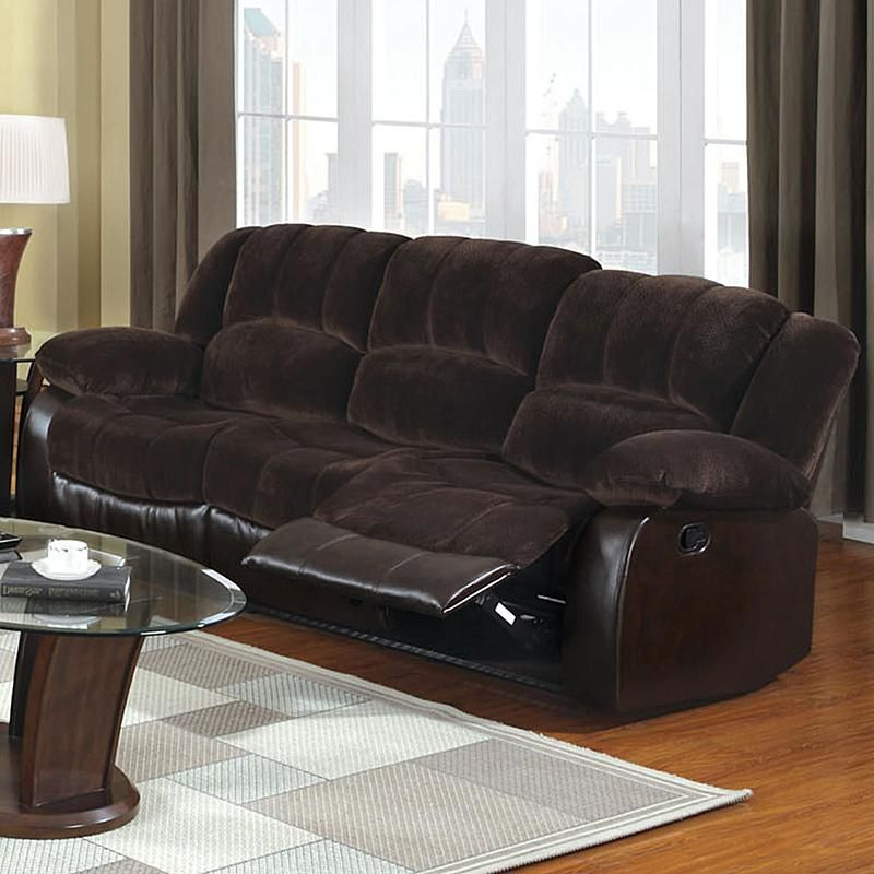 Venetian Worldwide Cm6556cp S Winchester Microfiber And Leatherette Recliner  Sofa Sears Outlet - Sears Outlet Sofas Goodca Sofa