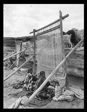 A Brief History of Navajo Weaving - Cameron Trading Post