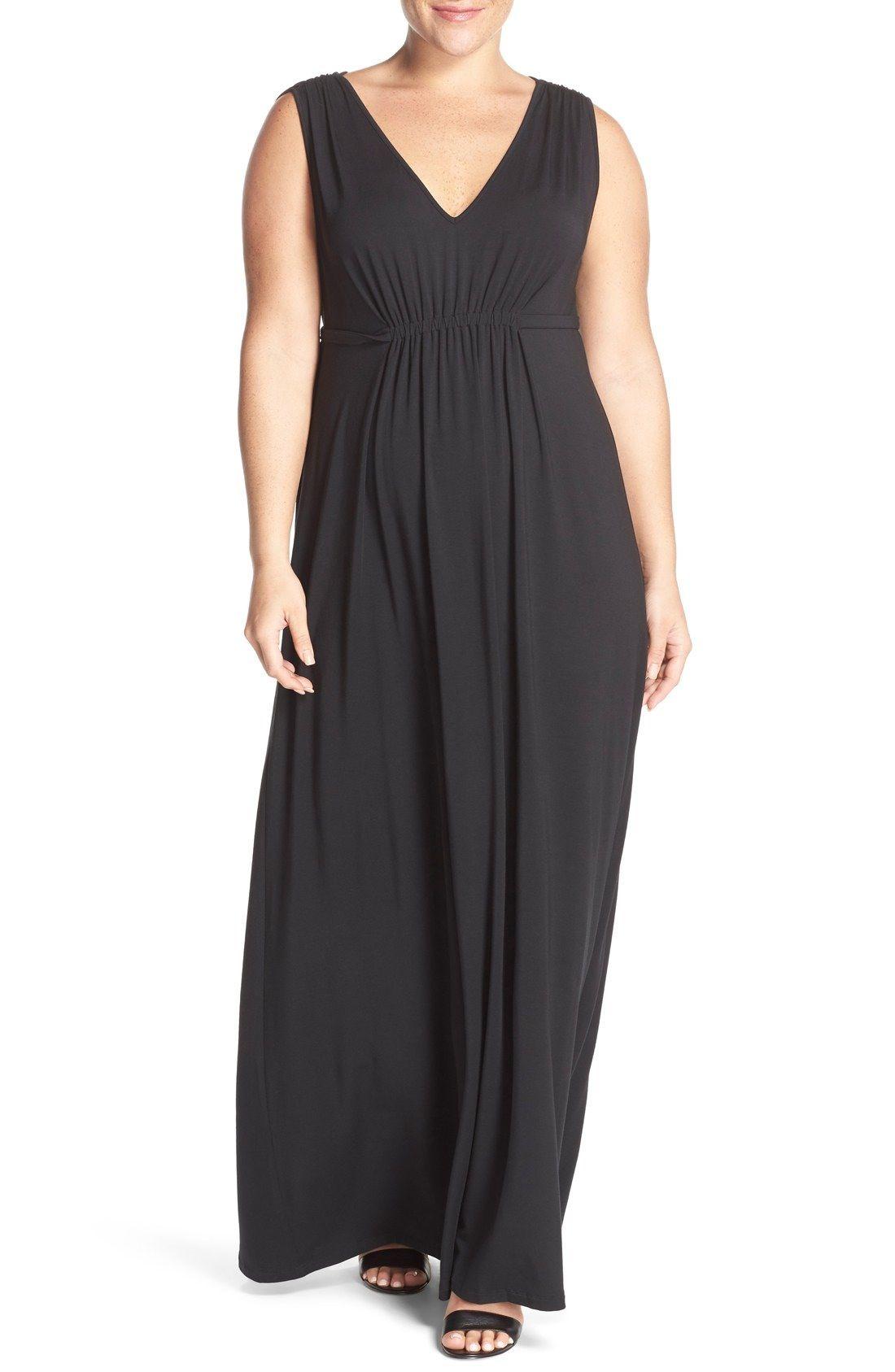 c544c3e26 Tart Grecia Sleeveless Jersey Maxi Dress (Plus Size) available at #Nordstrom