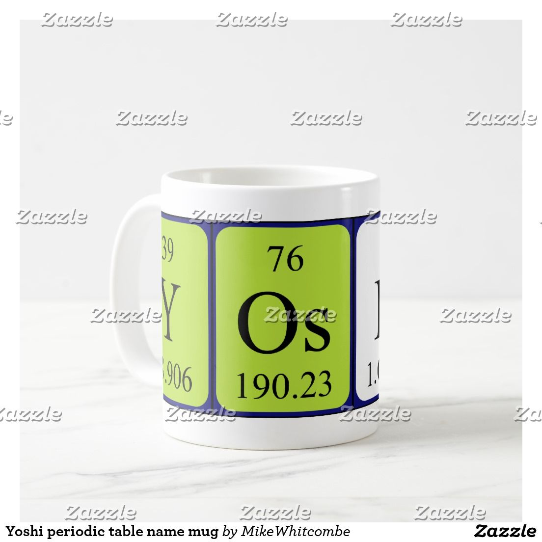 Yoshi periodic table name mug periodic name pinterest periodic yoshi periodic table name mug urtaz Choice Image