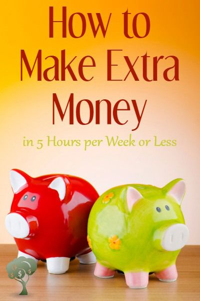 How To Make Extra Money In Hours Per Week Or Less Extra Money