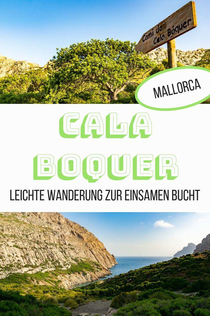 Cala Bóquer: Leichte Wanderung zur einsamen Bucht auf Mallorca