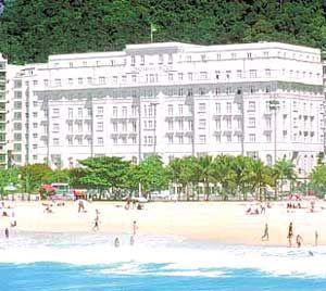 Copacabana Palace Hotel Rio Brazil