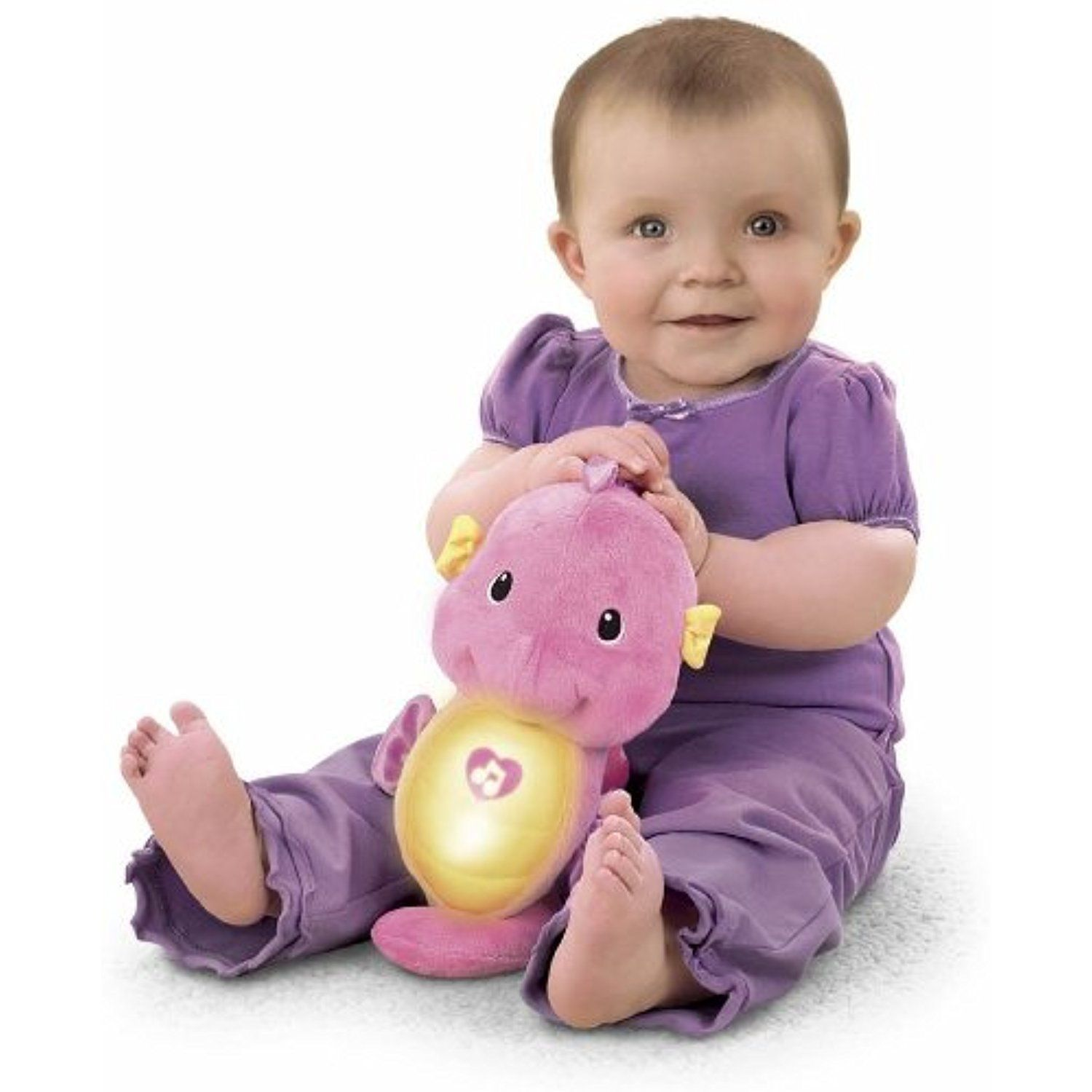 Fisher Price Ocean Wonders Soothe And Glow Seahorse Pink You
