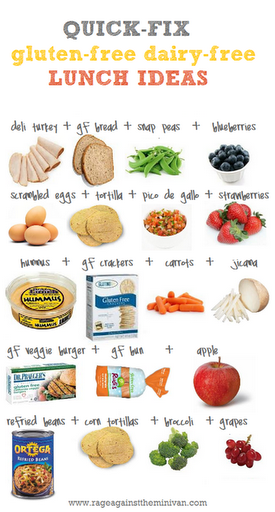 gluten and dairy free to lose weight