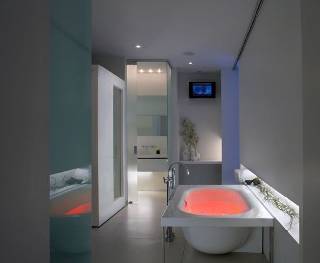 Let the idea of #illuminating your spa like room into a place of #serenity