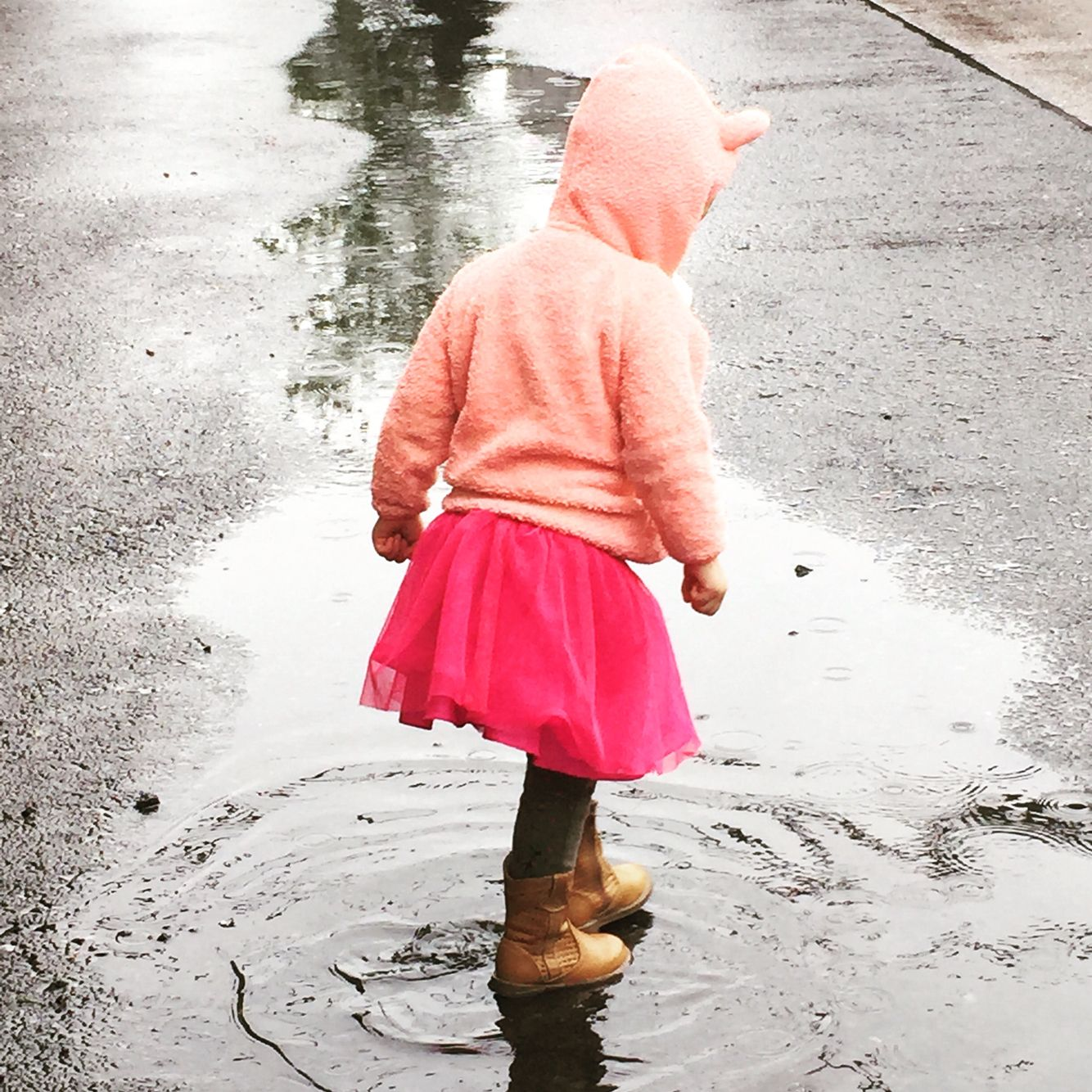 """""""When life gives you a rainy day, play in the puddles"""""""