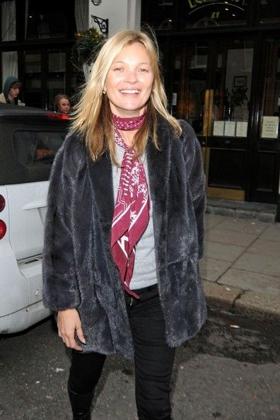 Kate Moss In A Mui Mui Coat God Save The Queen