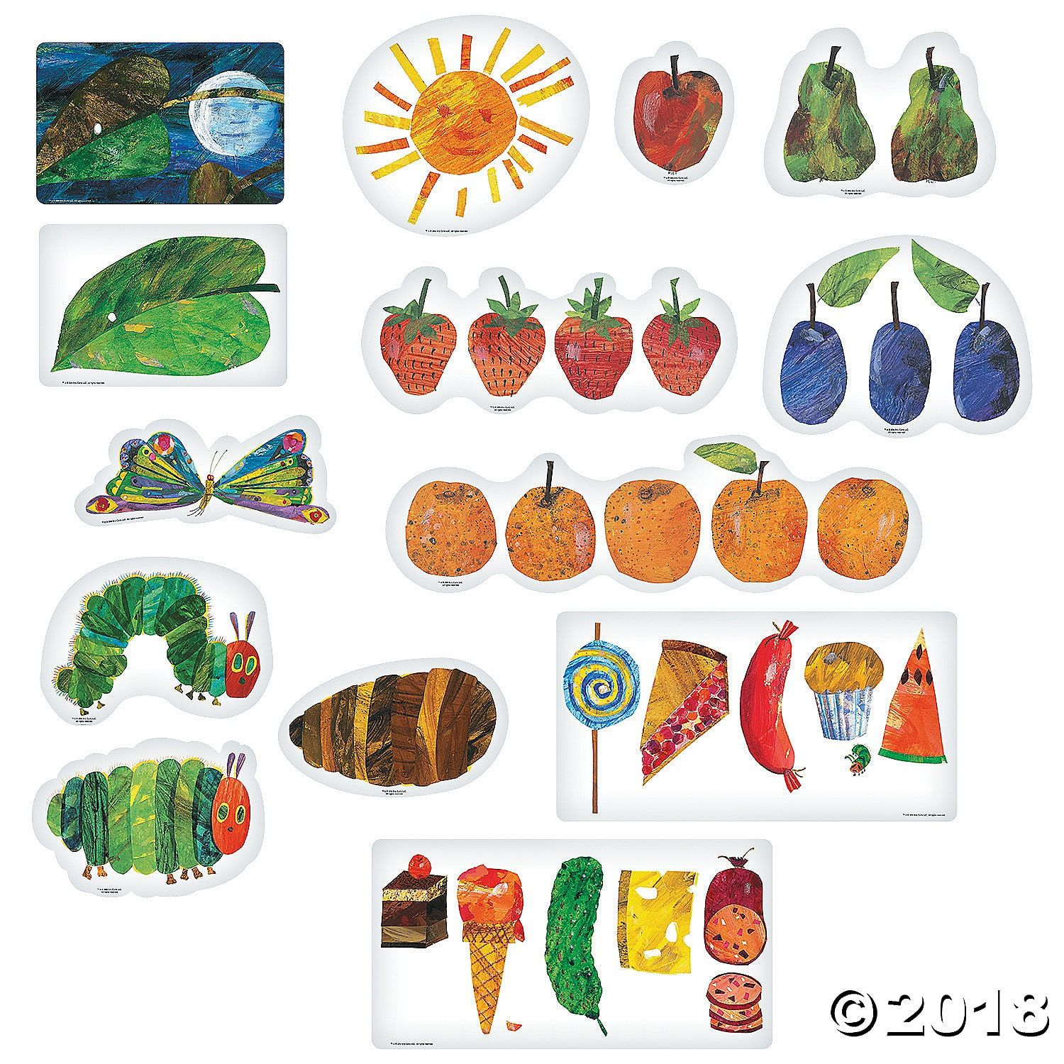 The Very Hungry Caterpillar Storytelling Magnets