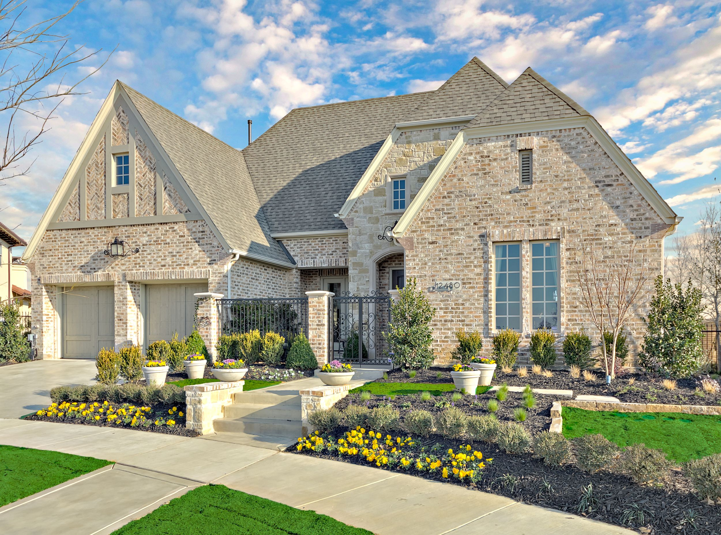 Lovely NewHomes In Newman Village 65 Patio, Dallas, Texas   Darling Homes