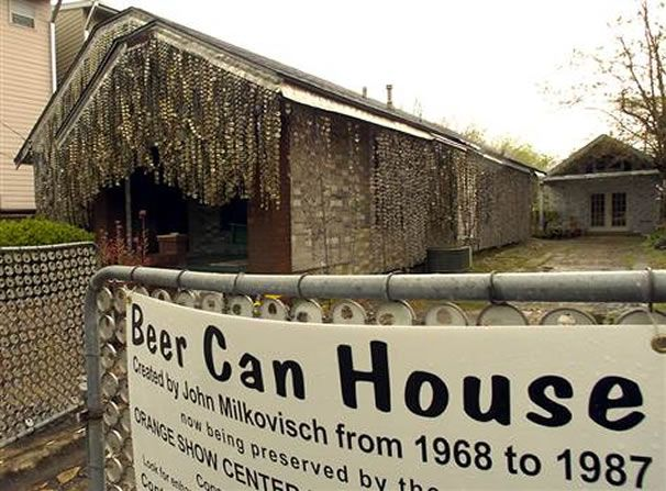 Awesome Beer Can House In Houston To Be Restored Home Decorating Home Interior And Landscaping Mentranervesignezvosmurscom