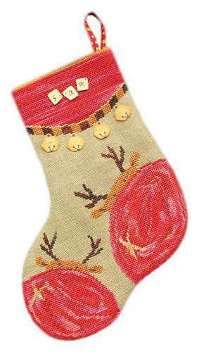 Cute cross stitch stocking