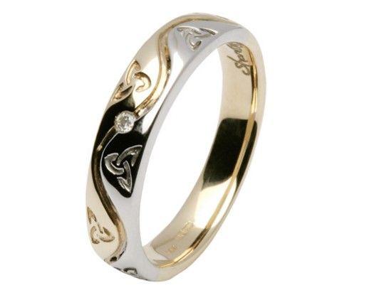 fa304bd6d7dc anillo con triqueta celta