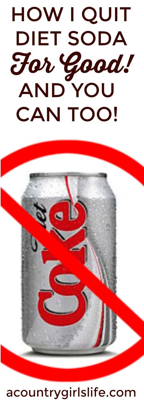 can you lose weight giving up diet coke