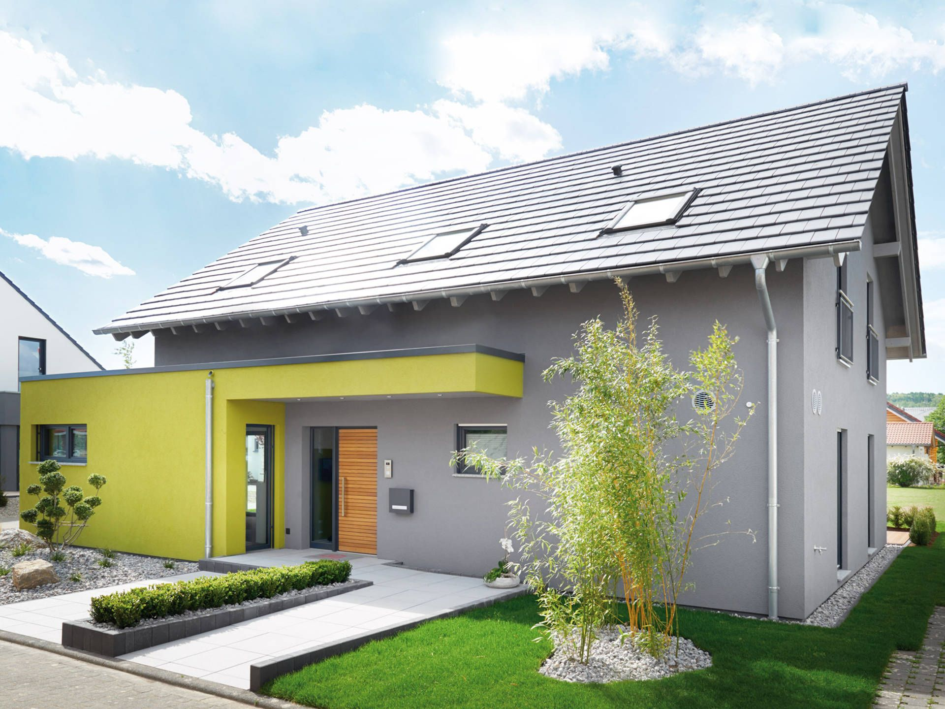 Nice Musterhaus Koblenz R 131.20 U2022 Musterhaus Von Fingerhut Haus U2022 Vielseitiges  Einfamilienhaus Mit Eingeschobenem Flachdachbau Und Great Pictures