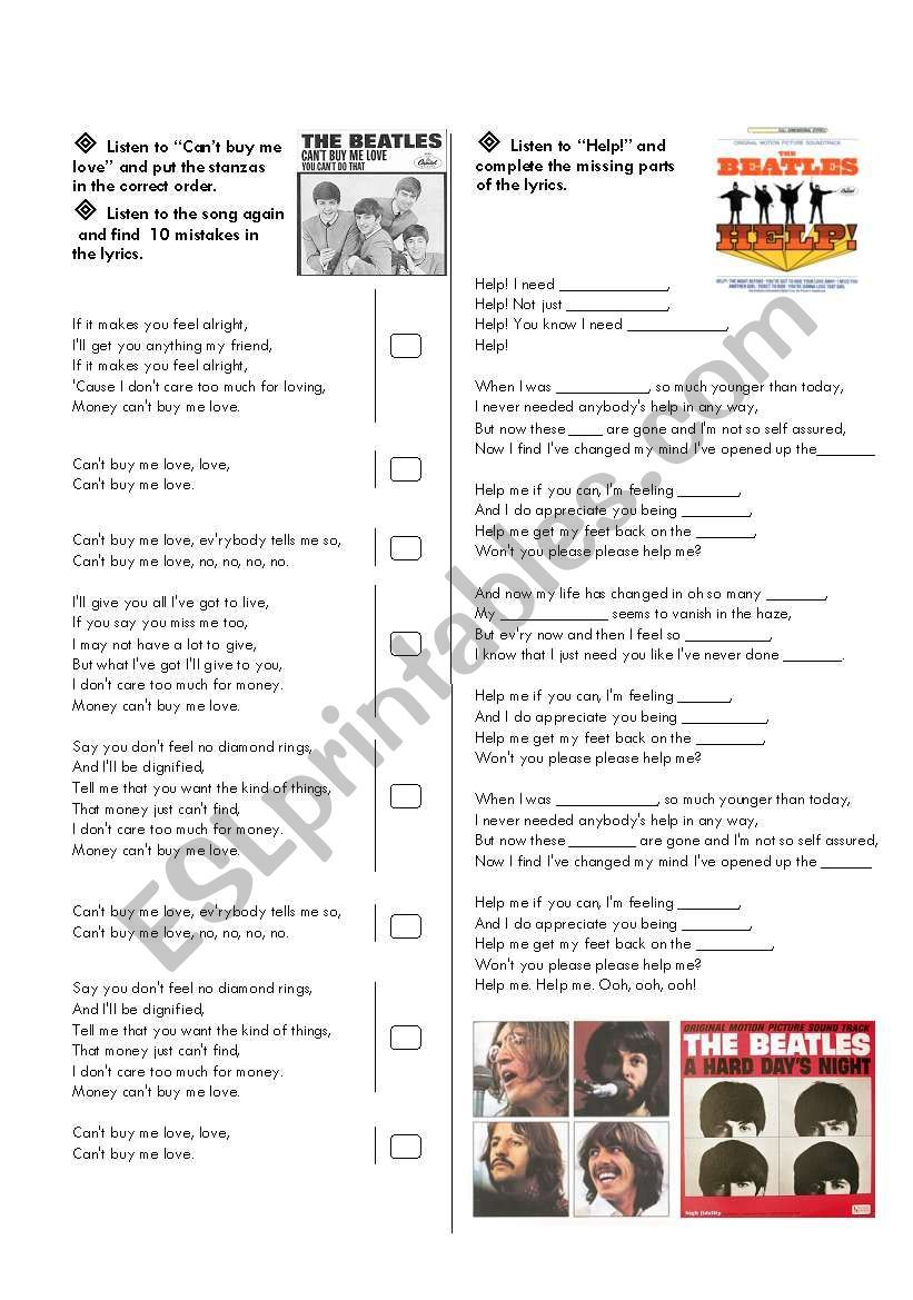 I Prepared This Worksheet For My Culture Class To Teach My 12 Year Old Students Reading Comprehension Activities Comprehension Activities The Beatles Biography [ 1169 x 821 Pixel ]