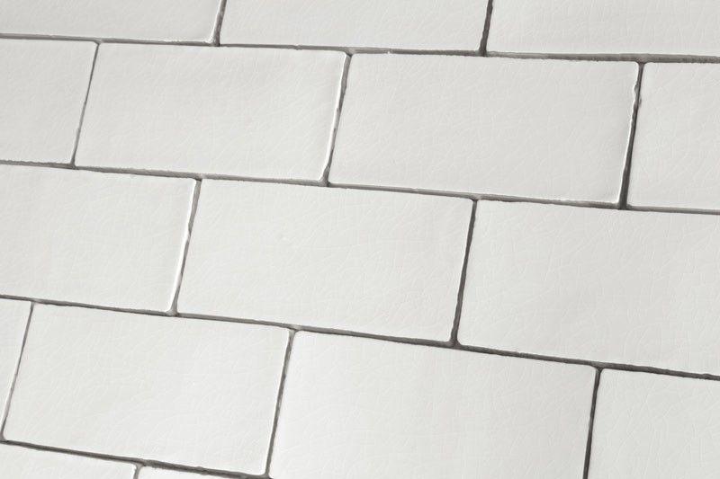 Crackle Glaze White Gloss Vintage Wall Tiles 7 5x15cm Crackle Glaze Tiles Vintage Wall Tiles White Brick Tiles Bathroom
