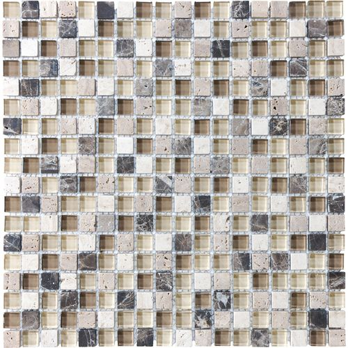 Lowes Decorative Tile Brown Beige Tones Mixed Material Wall Tile $1098 Lowes Httpwww