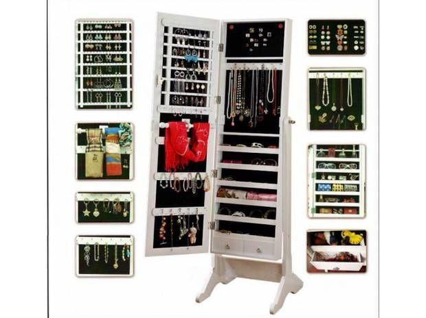Mueble espejo joyero o alhajero interiorismo pinterest - Mueble espejo joyero ...