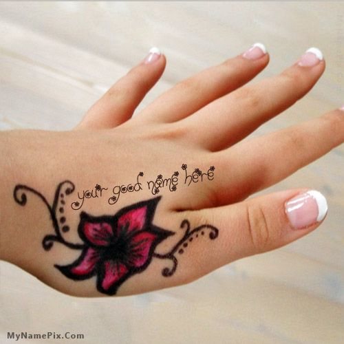 Design Your Own Names Of Mehndi Name Hand Cool Stuff