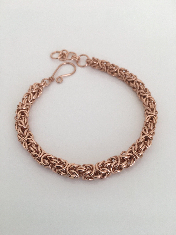 19th anniversary bracelet for wife 19 yr bronze byzantine