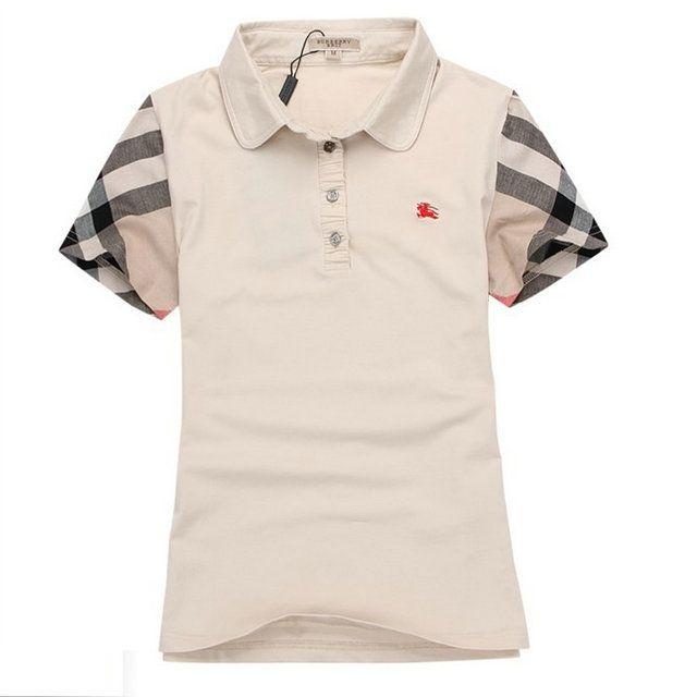 bdcc6955752e Polo Tee shirt burberry femme 0018  BURBERRY M00688  - €35.99   PAS CHERE  BURBERRY EN LIGINE!