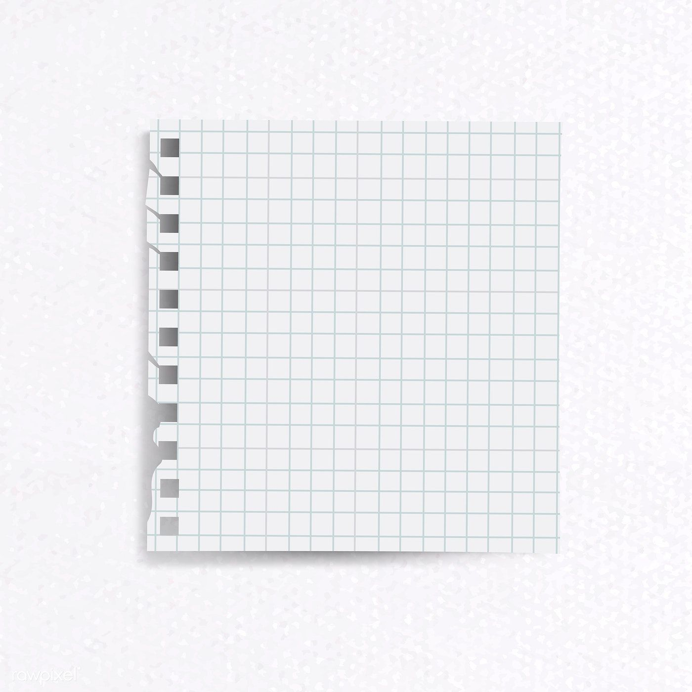 Blank lined notepaper on textured paper background