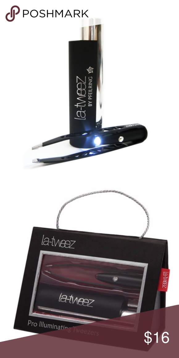 latweez Pro Illuminating Tweezers Makeup tools brushes