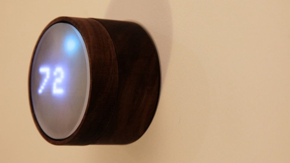 Build your own wifi connected thermostat glass and