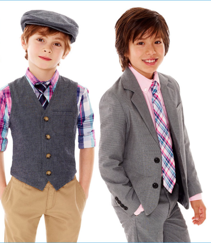 In addition to girls Easter dresses, we also offer boys Easter clothes. Our boy's styles include shortalls, two-piece sets and smocked designs. Our boys clothing is offered in various pastel shades that have a distinct springtime appeal.