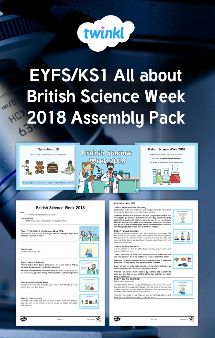 Teach your children about British Science Week 2018, the