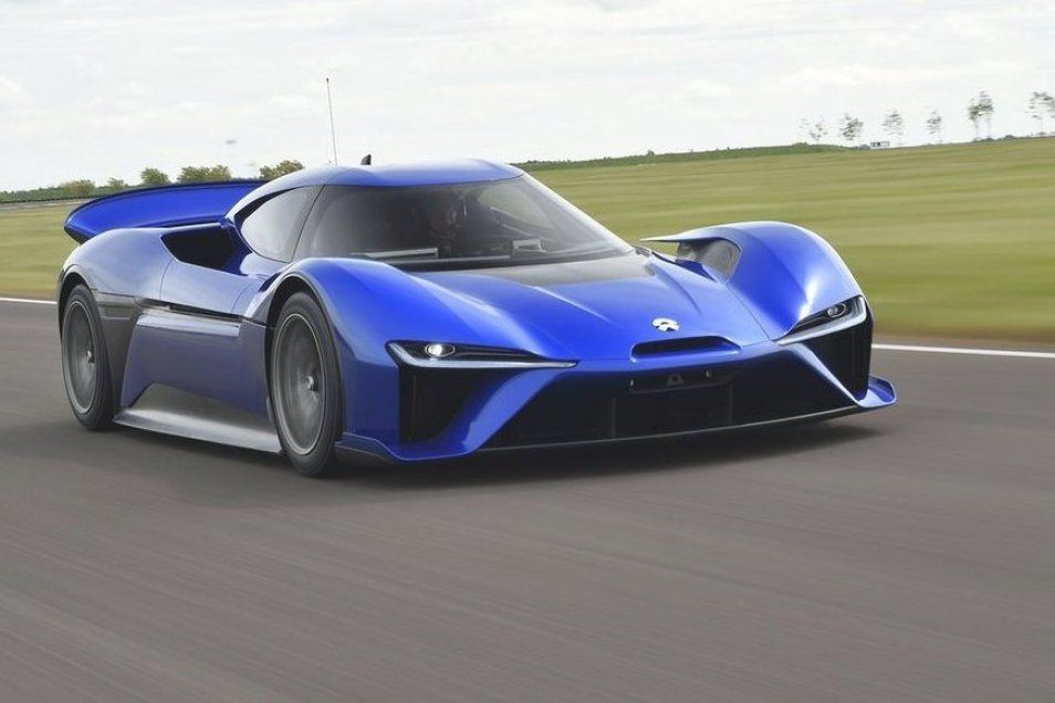 The allelectric Nio EP9 First Laps in 2020 Cheap