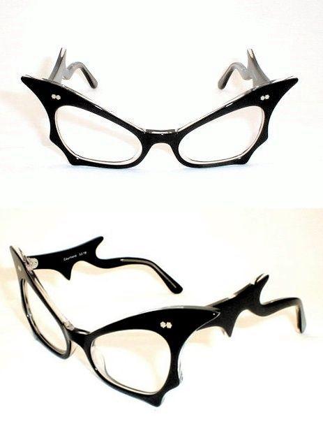Horror-Shop Bat Woman Sunglasses Blue Glass u2DVyu