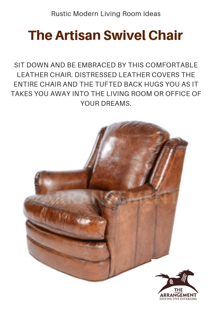 Rustic Modern Living Room Furniture Ideas Does Your Loved One Deserve A Comfy Chair Look No Furthe Comfortable Leather Chairs Modern Rustic Living Room Chair
