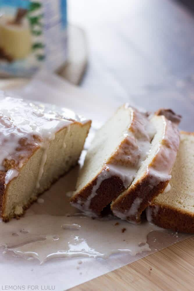 Eggnog Pound Cake I Like The Flavor Of A Box Mix Pillsbury Just Add International Coffee Creamer As In This Recipe