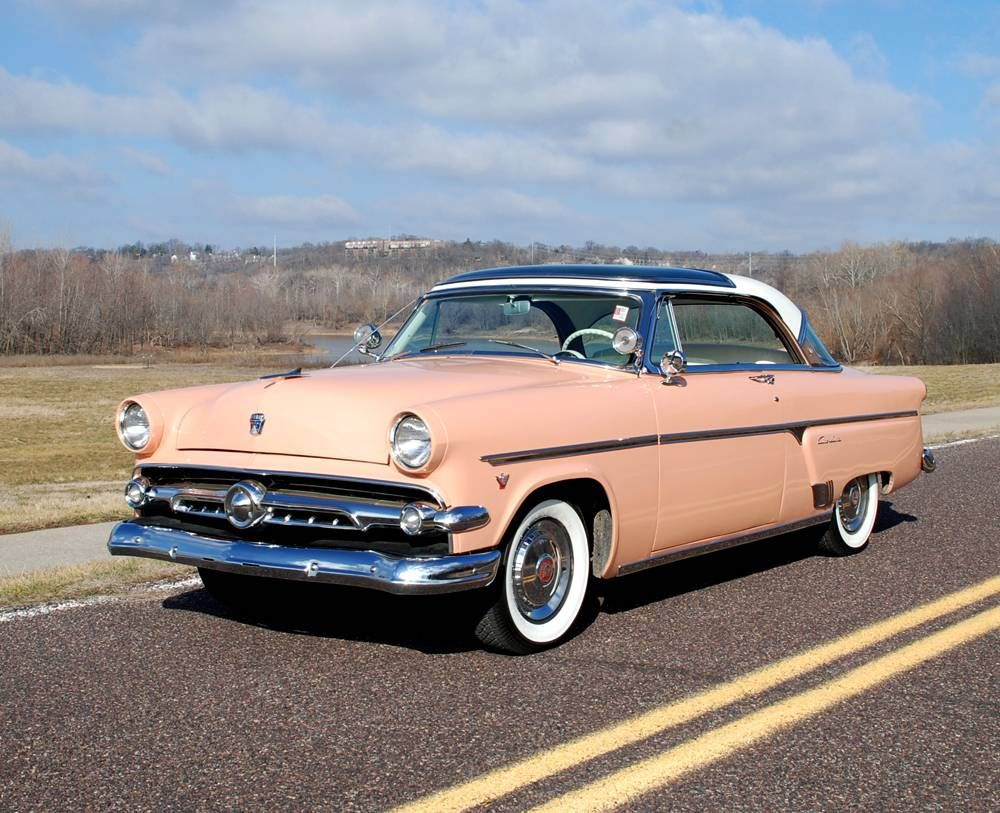 1954 ford skyliner my uncle ray who got a new car every 3. Black Bedroom Furniture Sets. Home Design Ideas